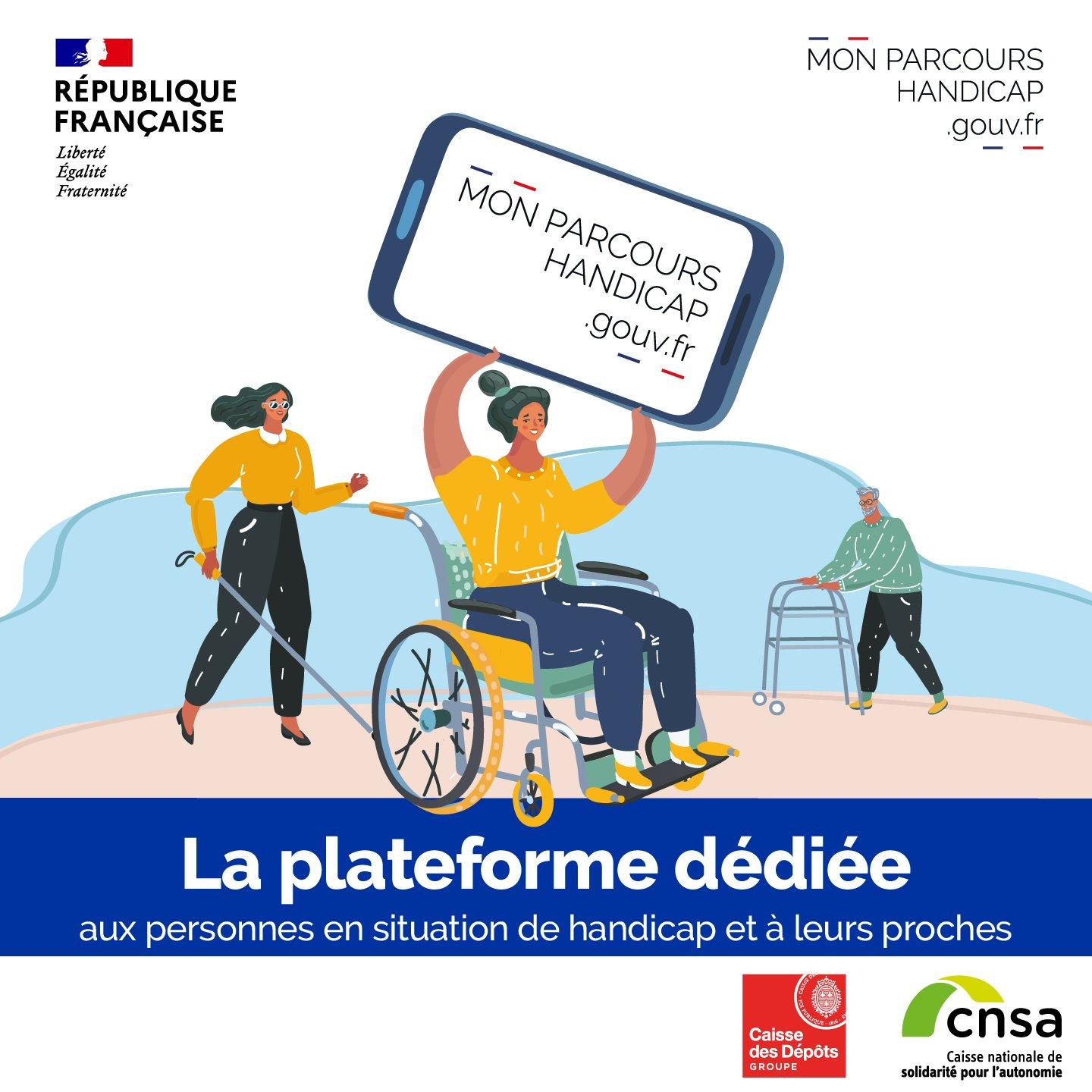 Découvrez La Nouvelle Plateforme «Mon Parcours Handicap»
