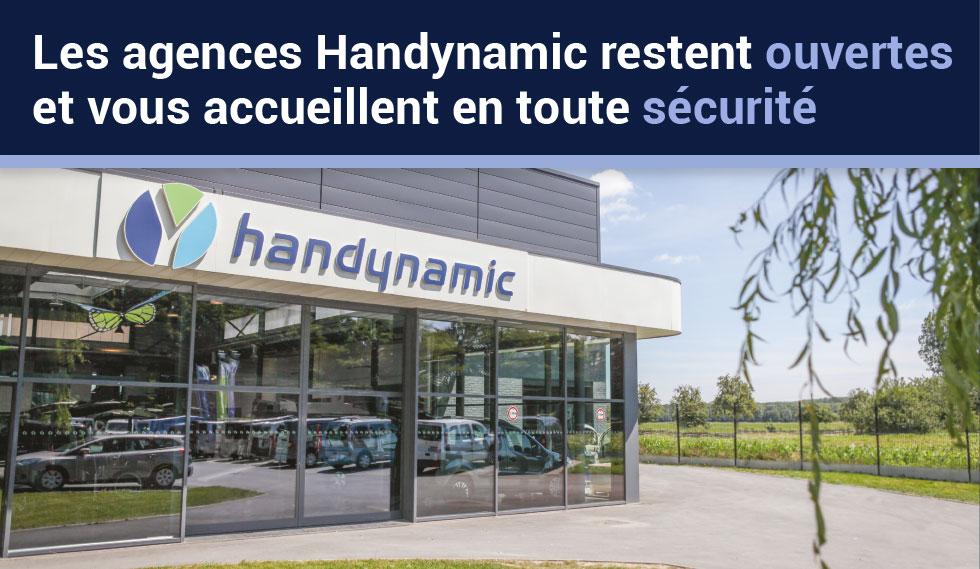 Les agences Handynamic restent ouvertes pendant le confinement