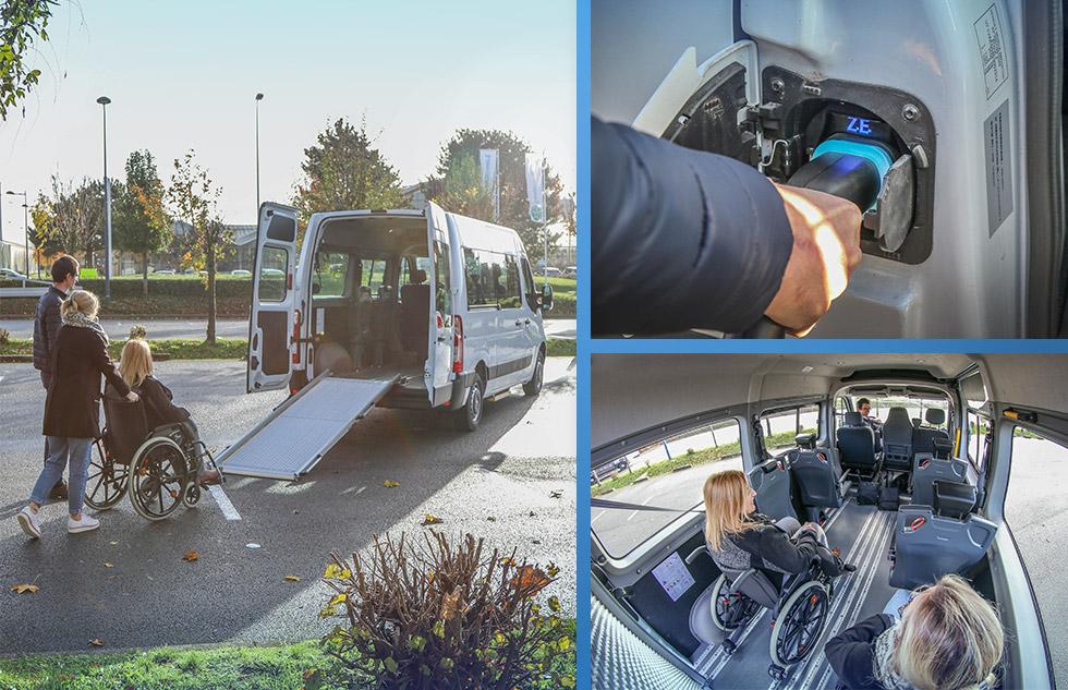Un Minibus TPMR Tout électrique, Modulable Et Spacieux !