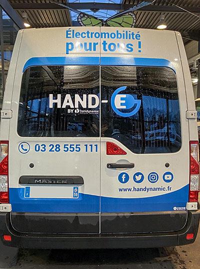 Handynamic développe une gamme de véhicules handicap non polluants