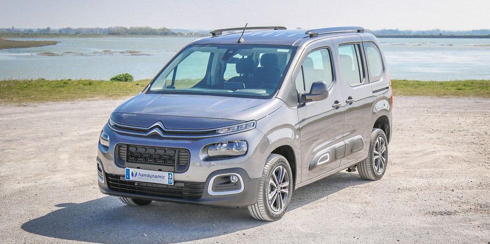 Le Citroën Berlingo peut lui aussi être aménagé HappyAccess