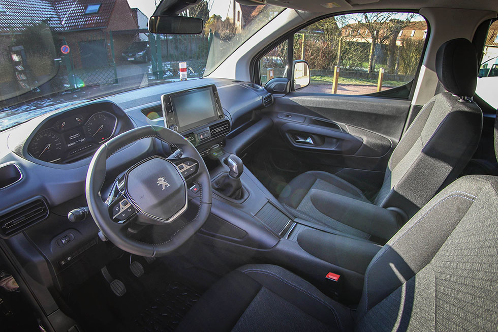 Le Peugeot Rifter HappyAccess offre un large panel d'équipements