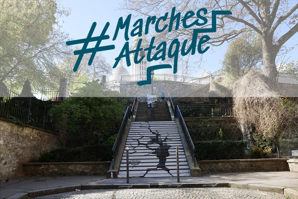 #MarchesAttaque, Une Campagne Pour Dénoncer L'inaccessibilité De Certains Lieux
