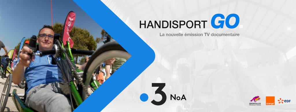 Une série documentaire sur les sports adaptés : Handisport Go