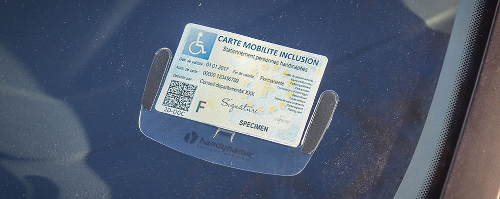 Les détenteurs de la carte mobilité inclusion ne sont pas concernés pas les restrictions des ZFE