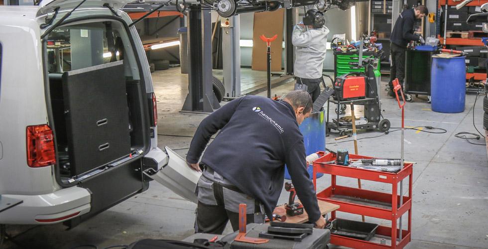 Le service après-vente Handynamic vous accompagne tout au long de la durée de vie de votre voiture handicap