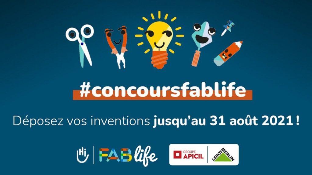 Il n'est pas trop tard pour participer au concours Fablife 2021 !