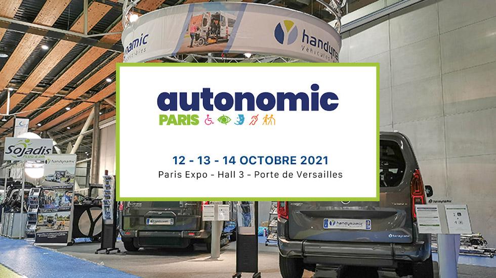 Retrouvez Handynamic au stand G25 du salon Autonomic Paris 2021 !