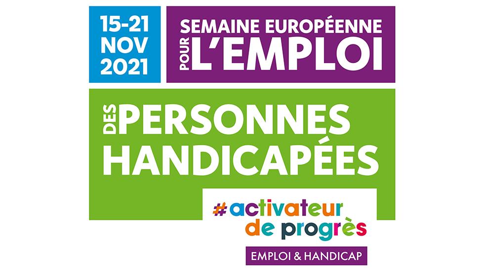 Plus Qu'un Mois Avant La 25e édition De La Semaine Européenne Pour L'Emploi Des Personnes Handicapées !