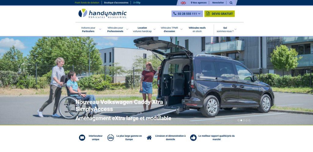 Découvrez la nouvelle version du site handynamic