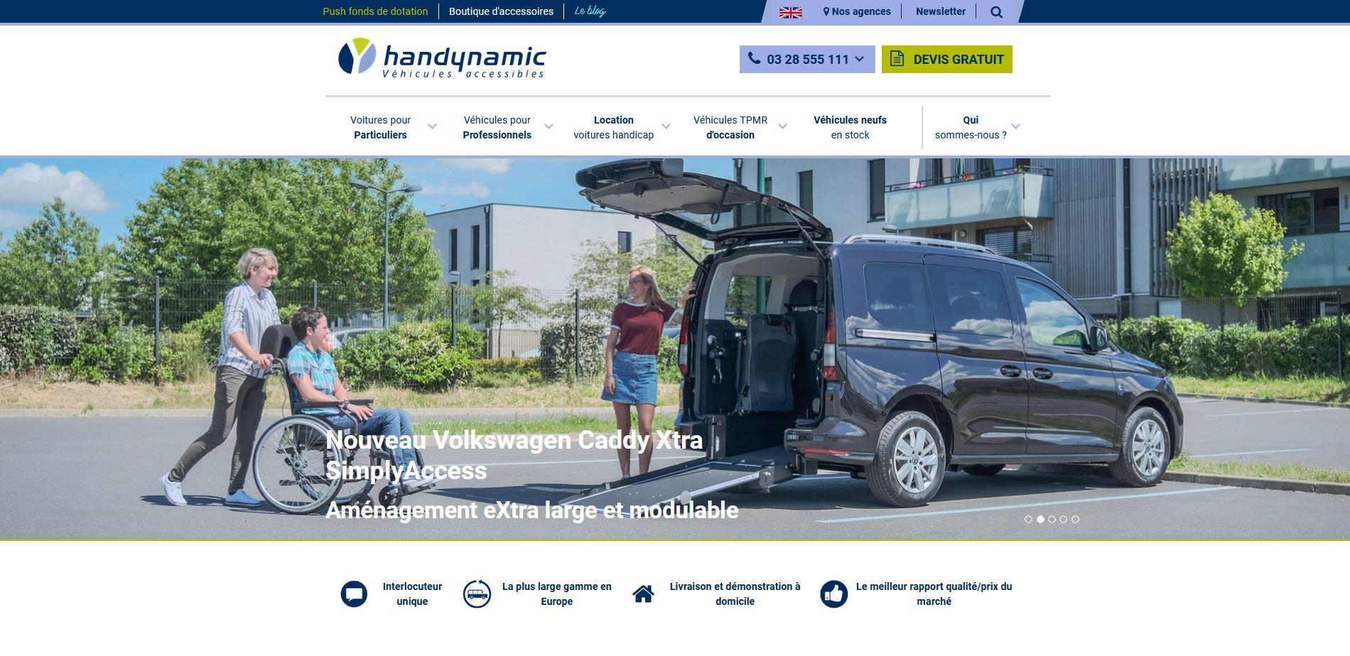 Site Internet Handynamic Ordinateur